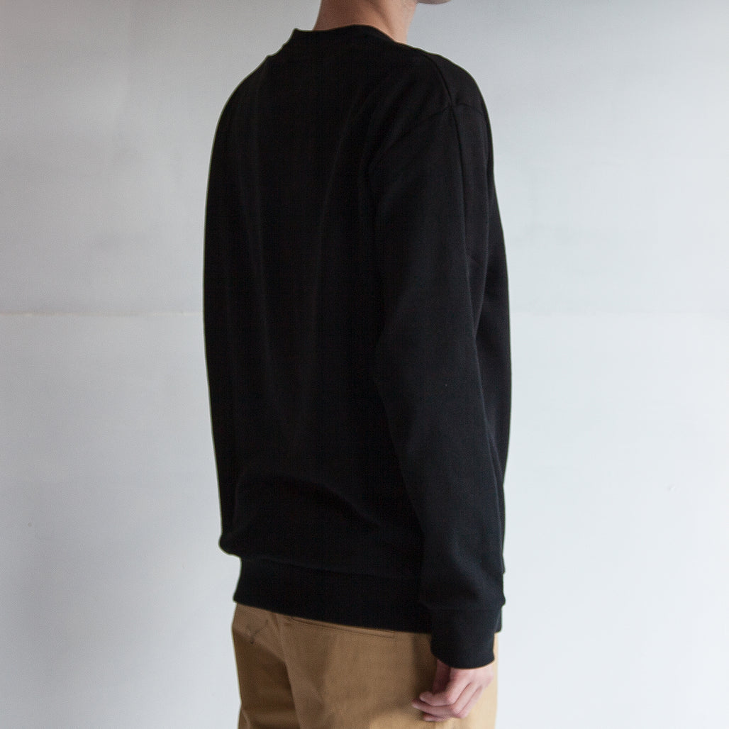 THE '3' SWEAT / BLACK.