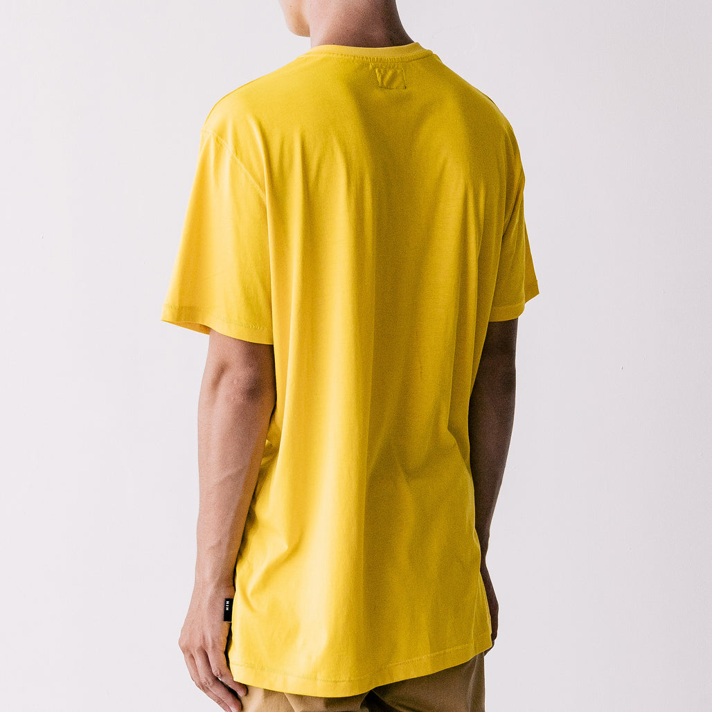 THE LONG REGGIE TEE / YELLO MUSTARD / LITTLE H I H