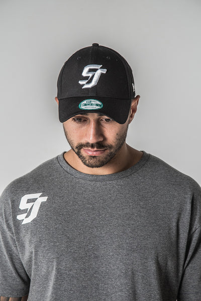 SJ Shaun Johnson New Era 940 Snapback Hat Cap - Black