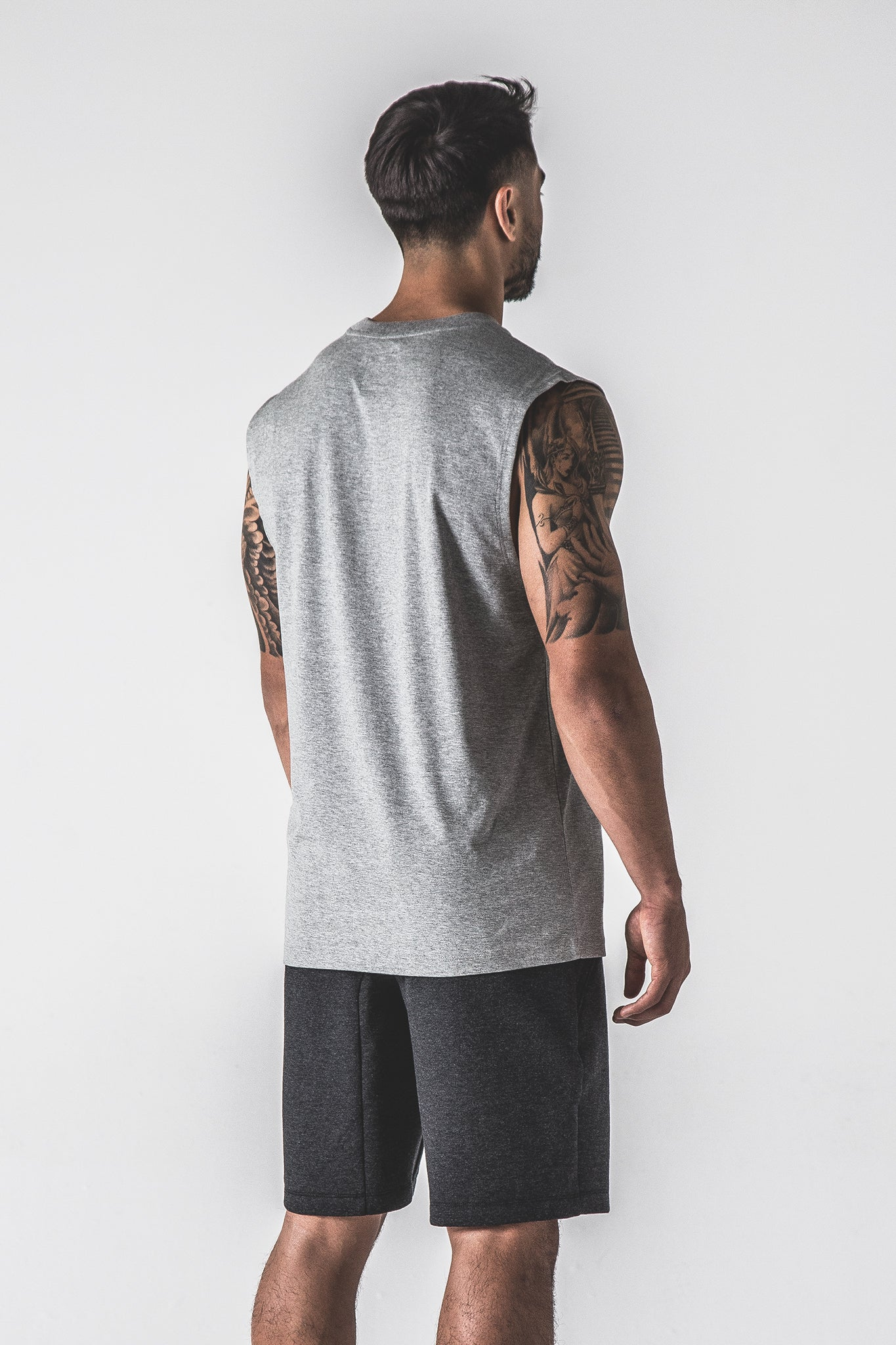 SJ Ayee Tank - Grey / Black