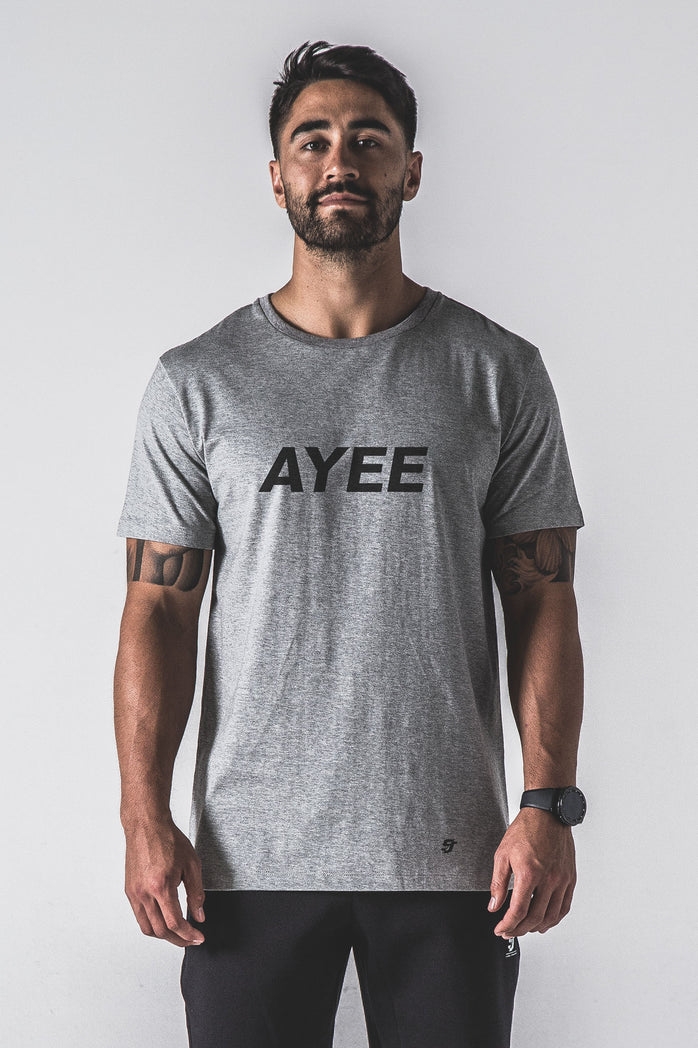 SJ Ayee Tee - Grey / Black