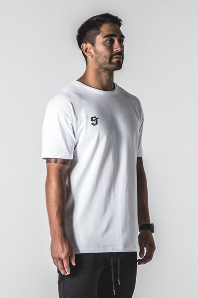 SJ Heavyweight Tee - White