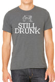 Still Drunk Mens T Shirt - Side Street Print