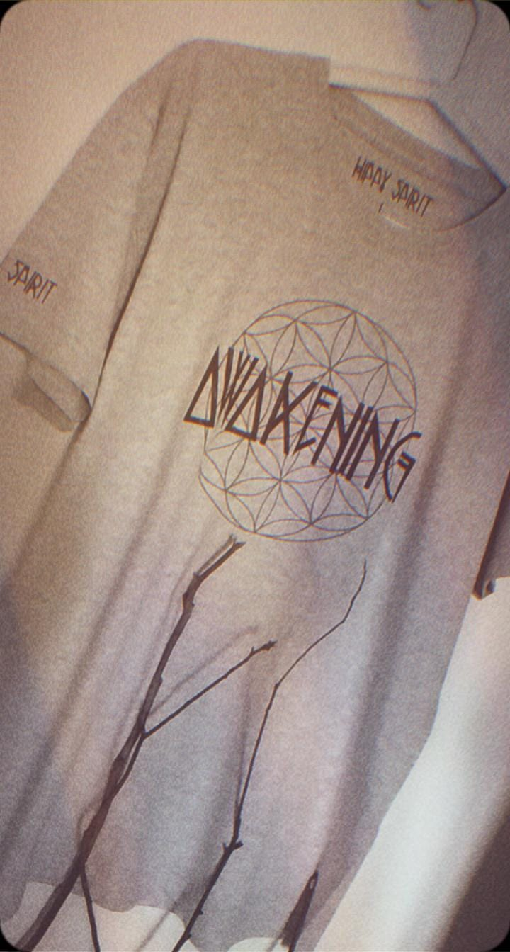 AWAKENING - FLOWER OF LIFE T-SHIRT