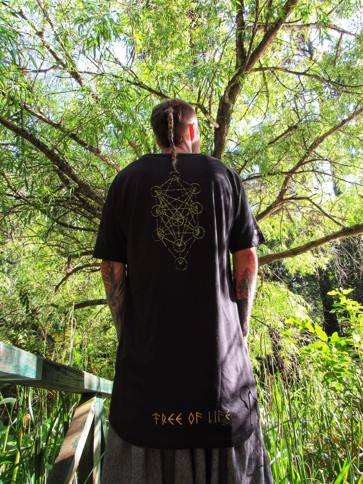 TREE OF LIFE T-SHIRT ~ Available in 2 styles ~ Long-line & Crew Neck