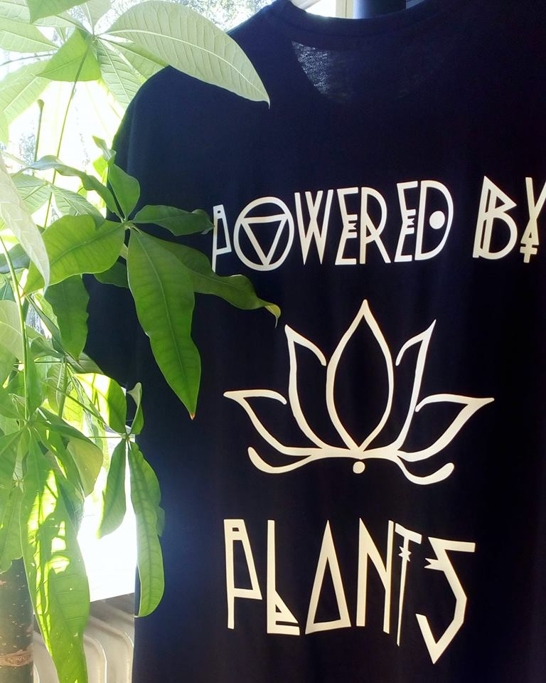 VEGAN ~ POWERED BY PLANTS