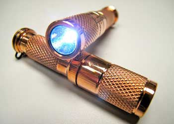 Copper AAA Flashlight by Maratac ™ REV 3 - CountyComm