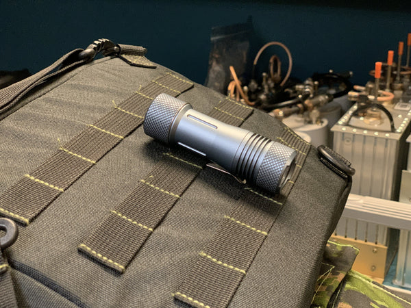 Tri Flood 18650 LED Flashlight - Gen 2 by Maratac - CountyComm
