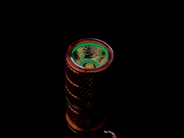 Brass - Peanut LED Flashlight Kit by Maratac Rev 2