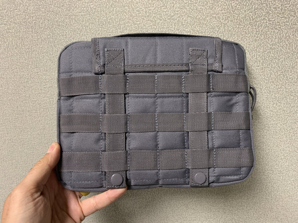 MOLLE Tablet Cover - Tornado Gray - CountyComm