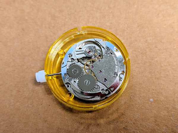 "Stocker & Yale ""SANDY 490 "" Mechanical Military Wristwatch Movement - > ETA 2801 Manual Wind - CountyComm"