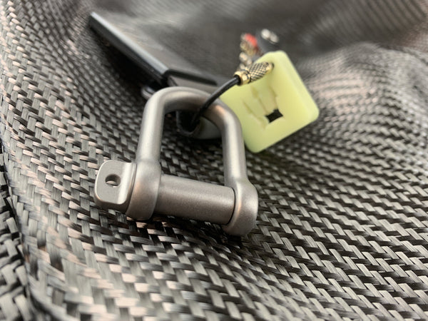 Titanium Gyve Rigging Shackle - CountyComm