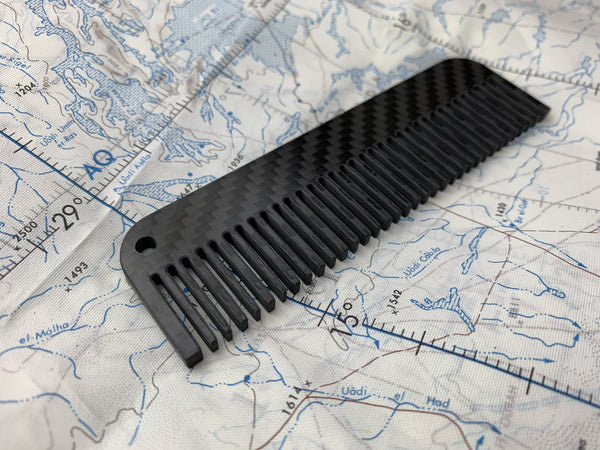 Carbon Fiber Comb - Limited Edition - CountyComm