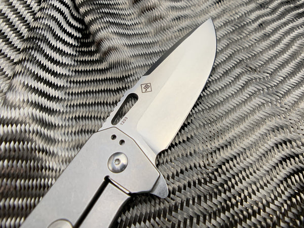 Boker - Black G10 - Burke Hitman Frame Lock Knife - CountyComm