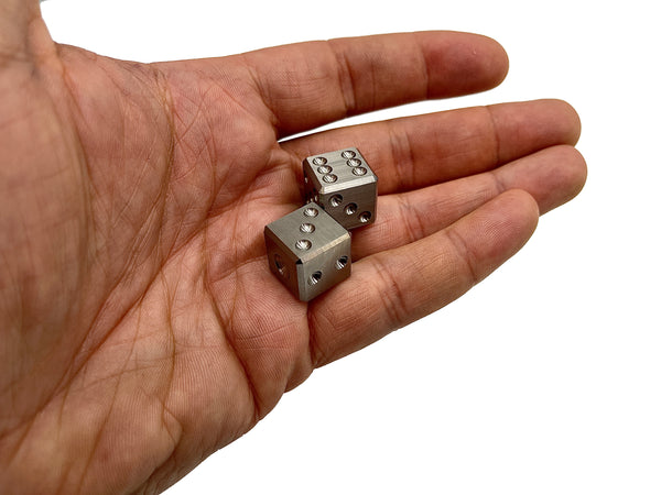 Pair-A-Dice - Titanium Dice Set