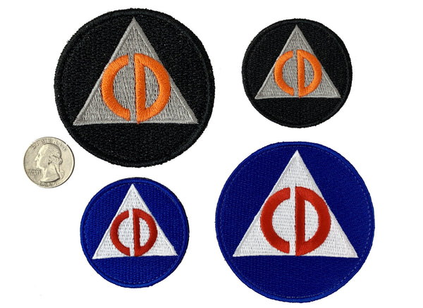 Civil Defense Limited Edition Patch - CC Exclusive! - CountyComm
