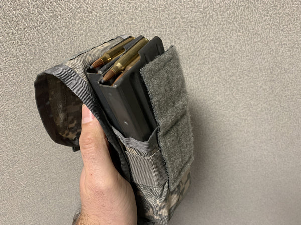 M4 Dual Magazine Pouch - NSN / U.S.A. Issue - CountyComm