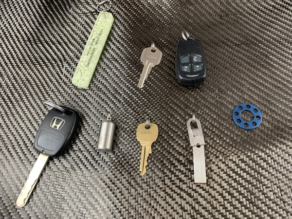 Key Ring-Go Titanium 8 Key Hub - CountyComm