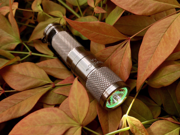 AA Titanium Nichia Flashlight by Maratac REV 2 2018