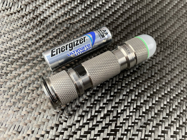 Titanium Domed Strobe AA Light By Maratac™ - CountyComm