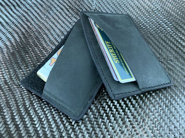 Leather Essentialism - Dual Pocket Wallet - CountyComm
