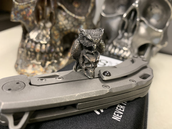 Skullhunter Owl Bead - Olamic Cutlery - CountyComm