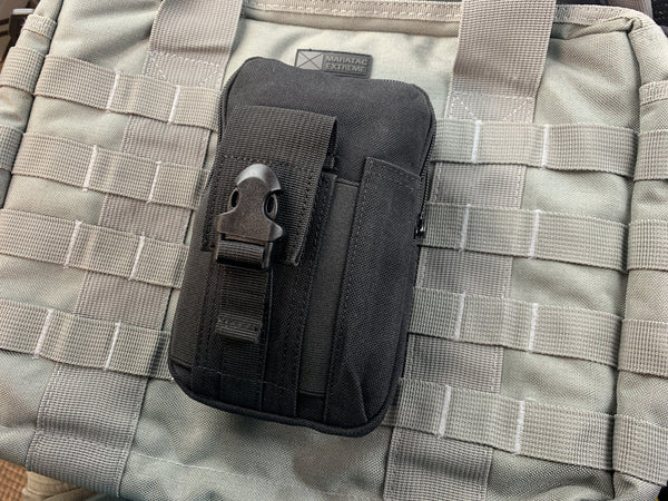 Diplomat 2 EDC Pouch with MOLLE - Vacuum Packed - CountyComm