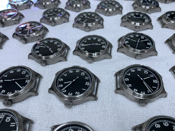 Titanium Field Automatic Watch + Sapphire Back by Maratac - CountyComm