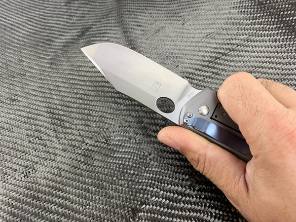 Boker Boss Carbon Ti - S35VN Blade Knife - CC Exclusive! - CountyComm