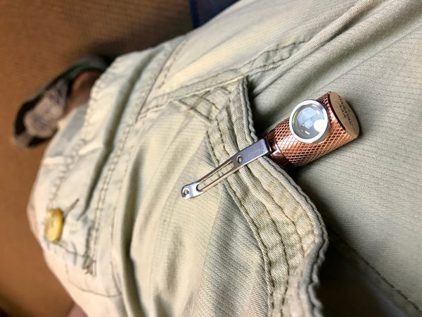 Copper Tactical Personal Flood TPF AAA Light by Maratac ~