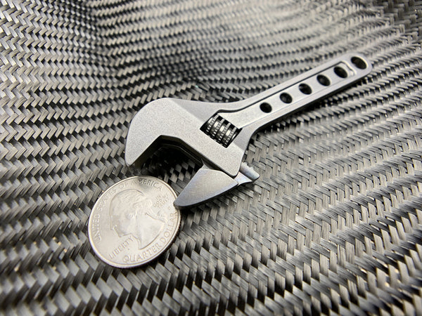 Adjustable Wrench - Titanium 4 Inch ( NSN Pending ) - CountyComm