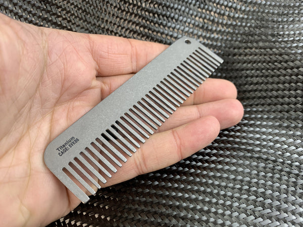 Exclusive Titanium Comb - Limited Overrun! - CountyComm