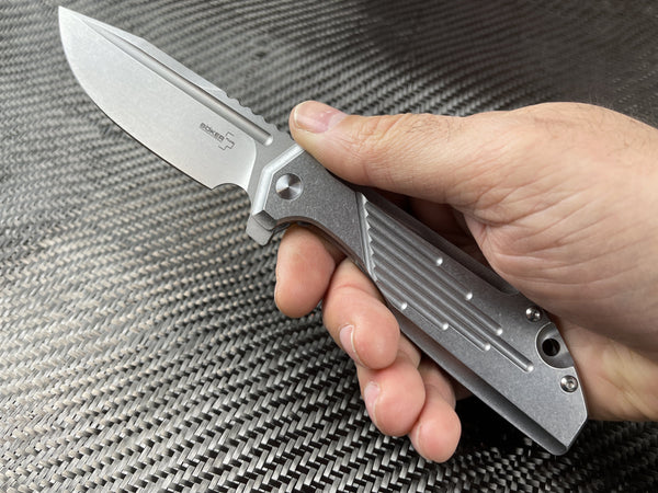 Stainless Steel - Boker Stout Commander Combo + With Knife Taco! - CountyComm