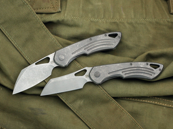Olamic WhipperSnapper Knife - (( Proudly USA Made! )) - CC Custom Exclusive - CountyComm