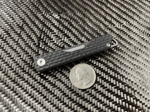 Carbon Fiber Folding Craft Scalpel Knife - CountyComm