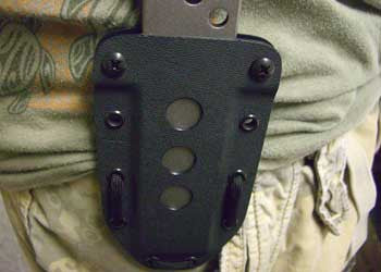 Kydex Molded Sheath for EOD Breacher Bar - CountyComm