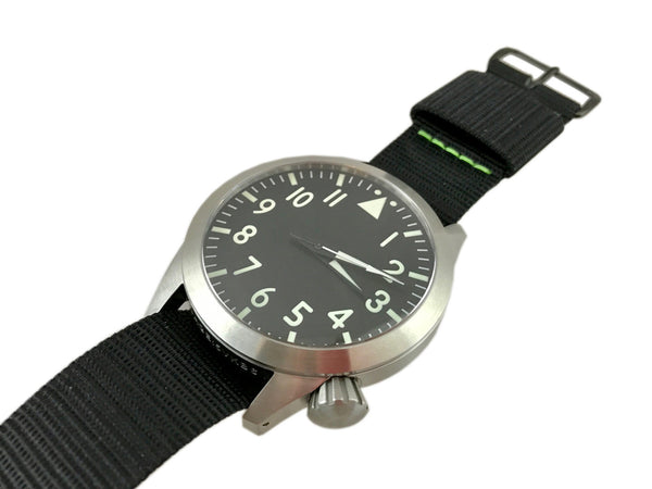 Large Central Second Pilot Automatic Watch by Maratac ™