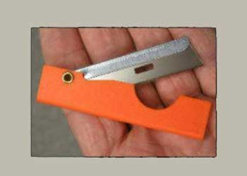 Pocket Straight Razor Survival Tool