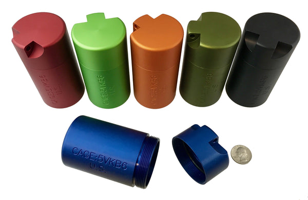Aluminium Anodized Ultimate EDC Capsule - CountyComm