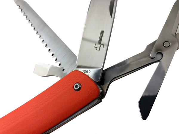 XL - Boker EDC Slip Joint Knife ~ Safety Orange G10
