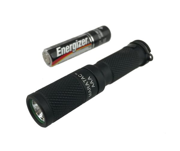 Anodized Aluminum AAA Flashlight by Maratac Rev 5 - CountyComm