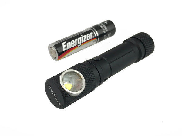 Anodized Aluminium Tactical Personal Flood TPF AAA Light by Maratac ™ - CountyComm