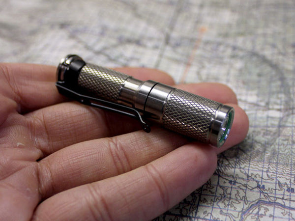 Titanium AAA Flashlight by Maratac ™ REV 5 - CountyComm