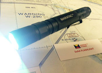 AAx2 Extreme - Glow - Tactical Light by Maratac REV 5 - CountyComm
