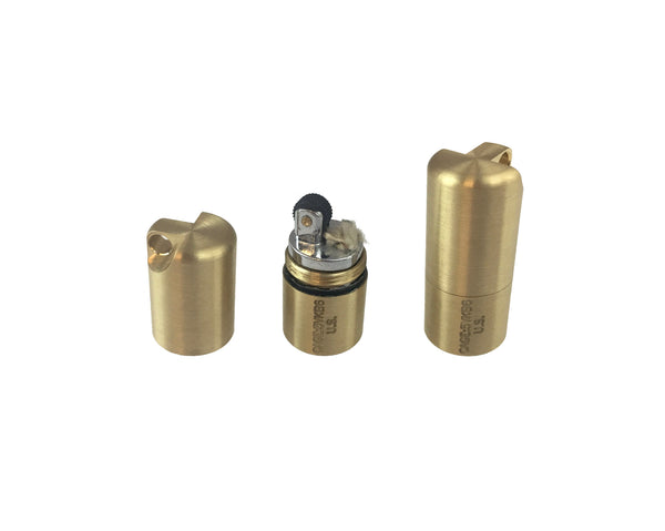 Brass Split Pea Lighter by Maratac ™ REV 2 - CountyComm