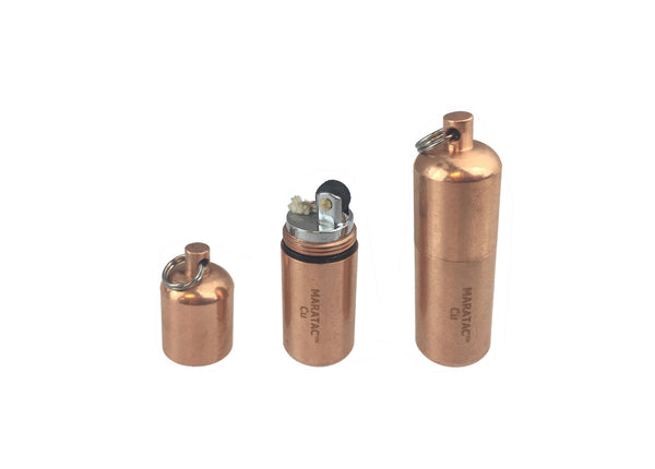Copper Peanut Lighter By Maratac ~ - CountyComm
