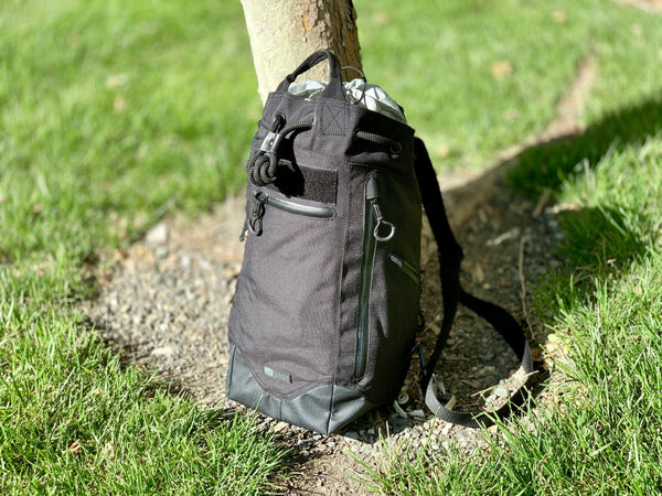 Covert Black - Bac Sac 1000D DayPack by Maratac REV 5 - CountyComm
