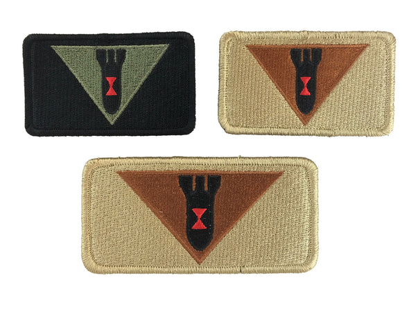 EOD Robotics Flight Suit Patches - CountyComm