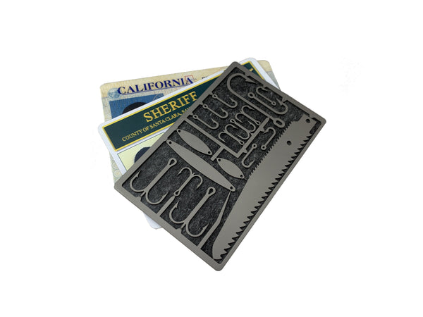 Survival Titanium Fishing Card - Limited Run! - CountyComm