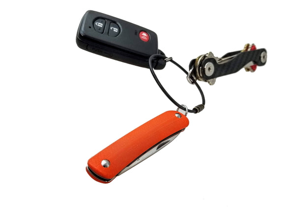 Boker Key Chain Slip Joint Knife ~ Safety Orange G10